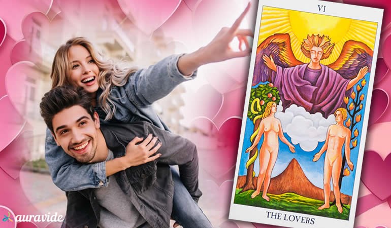 Como o Tarot do amor interpreta um sentimento